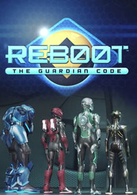Сериал Reboot: The Guardian Code (2018) Netflix (Постер)