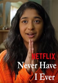 Сериал Я никогда / Never Have I Ever 2020 Netflix (Постер)